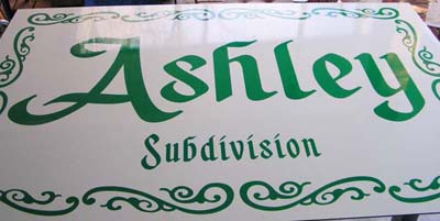 ashley subdivision